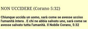 Corano...non uccc